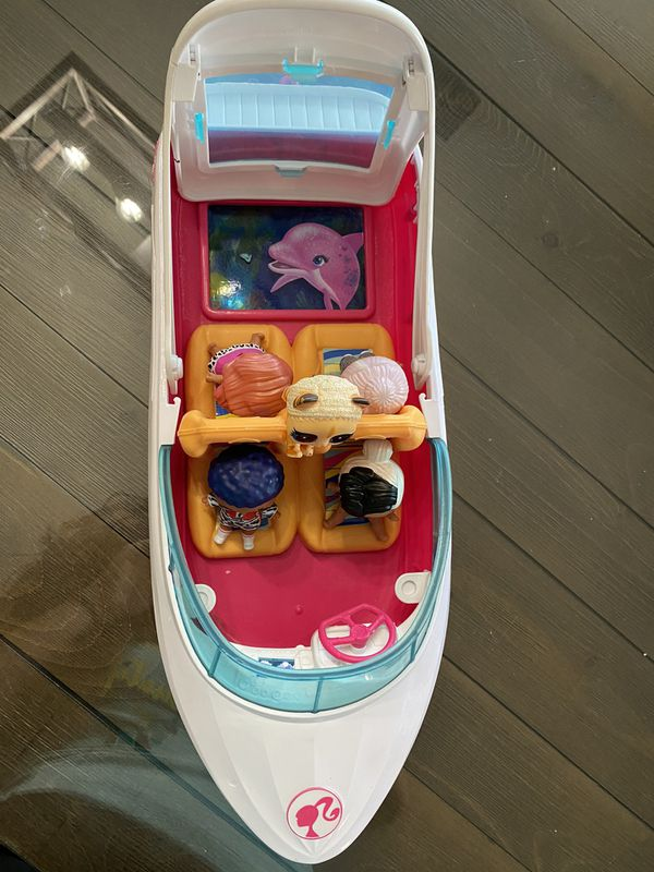 Lol Dolls with Pet and boat.