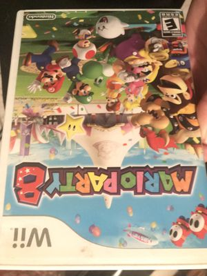 Mario party 8 for wii for Sale in Tampa, FL