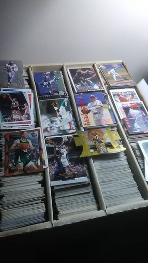 Baseball, basketball, hockey, football, race car, good cards very good cards must sell!!! for Sale in Maineville, OH