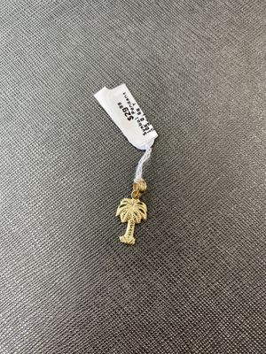 10K Yellow Gold Palm Tree Pendant for Sale in Miami, FL