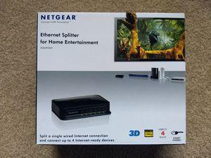 Netgear home entertainment switch for Sale in Kirkland, WA