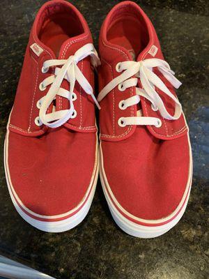 Vans Red Size 9.5 men (11 women) for Sale in Modesto, CA