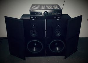 JVC Receiver with Pair of 250W KLH Speakers. for Sale in Aurora, IL