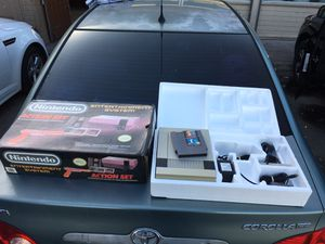 Nintendo entertainment system with box all cables and super Mario Bros / duck Hunt for Sale in Chula Vista, CA