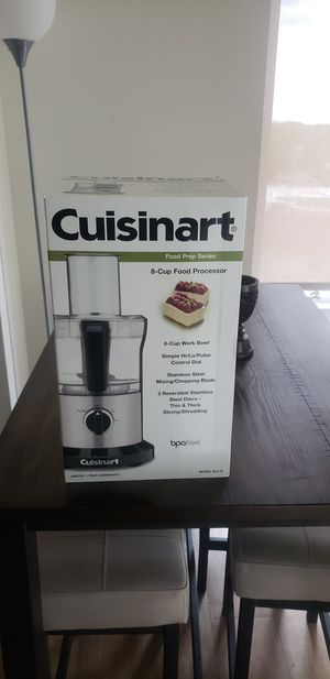 Brand New Cuisinart Food Processor for Quarantine Cooking for Sale in Arlington, VA