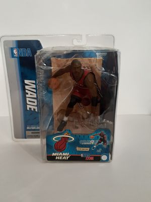 NBA Dwayne Wade Miami Heat (Red Jersey) Series 9 McFarlane **Figure Debut** for Sale in St. Petersburg, FL