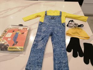 Brand New Minion Costume Dress Up - 1 Medium & 1 Small Available - 1 for $5 or both for $8 for Sale in Etiwanda, CA