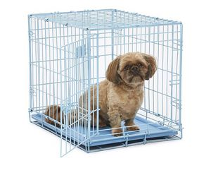 Midwest blue dog 24 inch crate for Sale in New York, NY