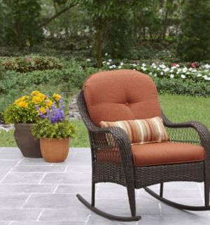 New!! Outdoor chair, patio rocking chair, outdoor relaxing chair, backyard furniture for Sale in Phoenix, AZ