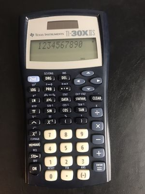 Texas Instruments TI-30X IIS Scientific Calculator - Black for Sale in Buckhannon, WV