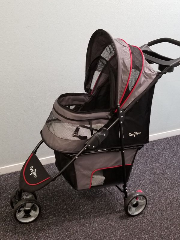 Dog stroller new, one time used