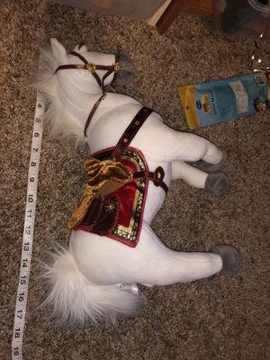 "Tangled Maximus white horse plush doll (Disney Store) 17"" long for Sale in Phoenix, AZ"
