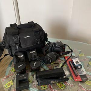 Canon EOS Rebel T6 1300D Bundle for Sale in Tempe, AZ