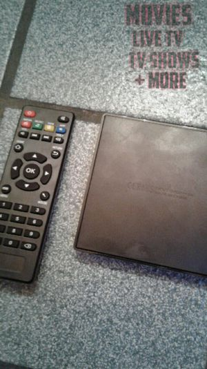 Set-Top TVBox w/ Everything Added! for Sale in Riverside, CA