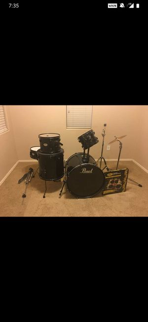 Pearl drum set for Sale in Mesa, AZ