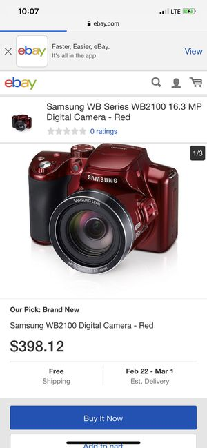 Samsung digital camera for Sale in Philadelphia, PA
