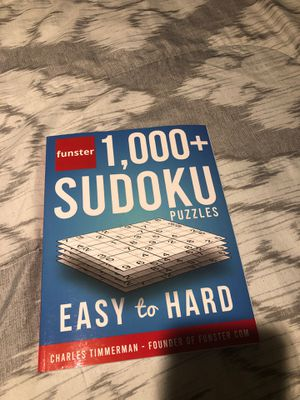 Sudoku book for Sale in Lakewood, CA