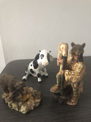 ceramic figures, any for $ 10 for Sale in Fort Myers, FL