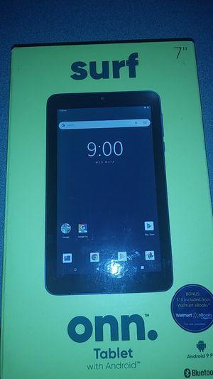 Onn 7 inch quad core tablett for Sale in Lugoff, SC