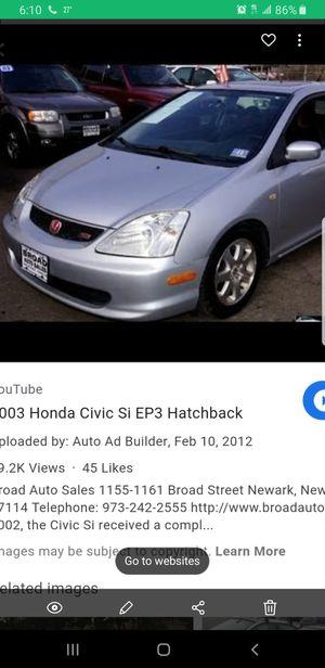 Honda civic si 2003 for Sale in Springfield, MA
