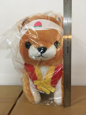 Japan mameshiba brother momo peach plushie for Sale in San Jose, CA