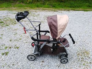 Double stroller baby trend sit-n-stand for Sale in Ashtabula, OH