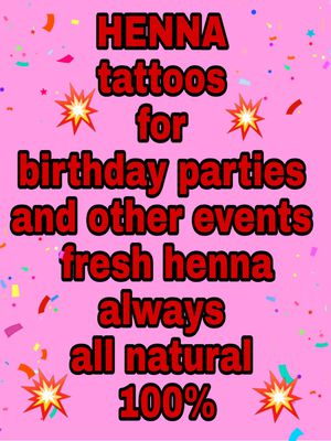 Henna tattoos for Sale in Glendale, AZ