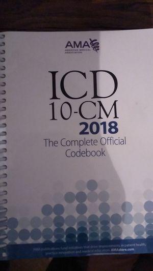 ICD-10-CM 2018 for Sale in Richmond, VA