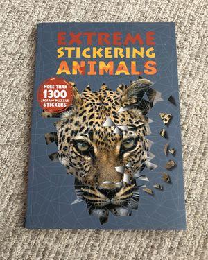Brand New Animal Sticker Book for Sale in North Riverside, IL