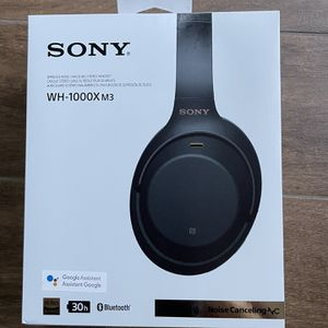 Sony WH-1000XM3 Active Noise Cancellation Wireless Headphones for Sale in Long Beach, CA