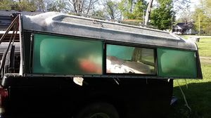 Camper shell off of 8ft bed fiberglass vintage for Sale in Indianapolis, IN