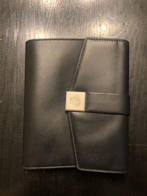 Black Versace Passport Wallet for Sale in Germantown, MD