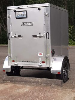 PRICE REDUCED!! E-Z Hauler 4' x 6' Aluminum Trailer for Sale in Puyallup,  WA