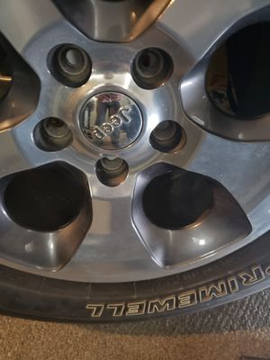 Jeep wheel and tire $50 for Sale in Fort Worth, TX