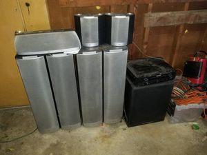 JBL surround system marantz receiver for Sale in Aurora, IL