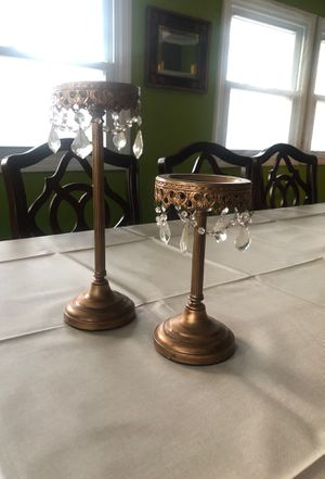 2 Chandelier Style Candle Holders for Sale in Kensington, MD