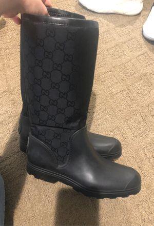 Gucci rain boots size 37 for Sale in Fife, WA