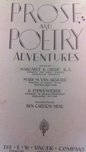 Poetry copyr right back in 1935 and take $10 for it for Sale in PUEBLO DEP AC, CO