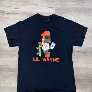 PizzaSlime X Lil Wayne The Carter V Bootleg Bart Simpson Simpsons T-Shirt Sz M for Sale in Miami, FL