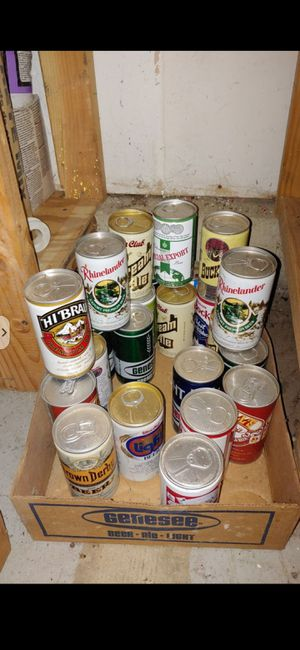Old empty cans For Free for Sale in Schaumburg, IL