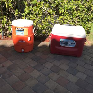 2 Coolers for Sale in Orange, CA
