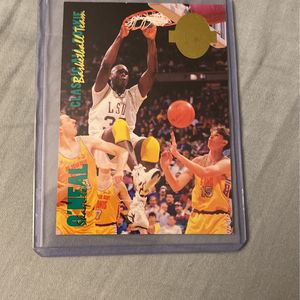 Shaq LSU rookie Card for Sale in Grayslake, IL
