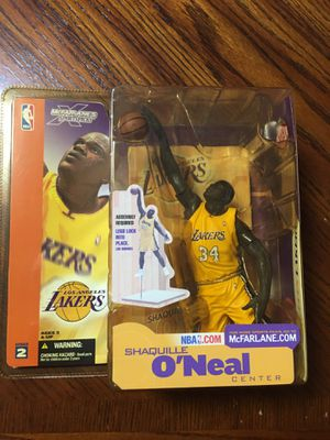 Shaquille O'Neal Lakers McFarlane Toy 2002 for Sale in Pompano Beach, FL