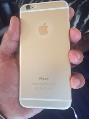 iPhone 6 gold 16 gb unlocked for Sale in Los Angeles, CA