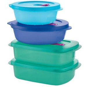 Crystalwave set of 4 containers for Sale in Oak Lawn, IL
