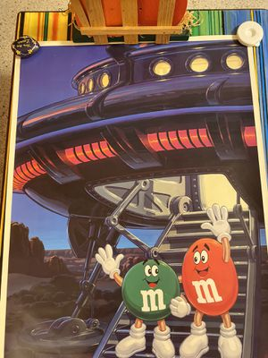 Vintage star tours M&M poster for MGM Studios January 13,1990 for Sale in Dunedin, FL
