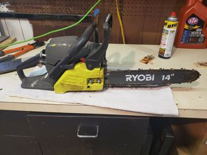 Ryobi 14 inch Gas Chainsaw Used for Sale in Litchfield, CT