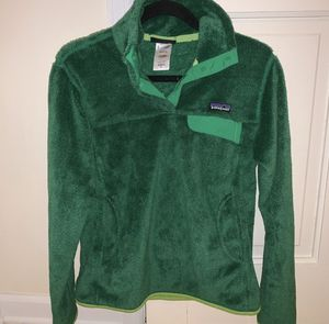 Patagonia Re Tool Snap Fleece Pullover Green M for Sale in Gainesville, GA