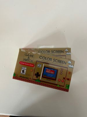 Nintendo Super Mario Game And Watch for Sale in Fresno, CA