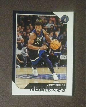 2018-19 Panini Jimmy Butler Minnesota Timberwolves #170 NBA Hoops Basketball Card Collectible Sports for Sale in Salem, OH